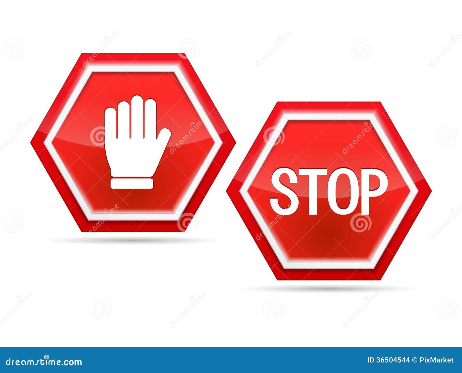 Stoppa tecknet