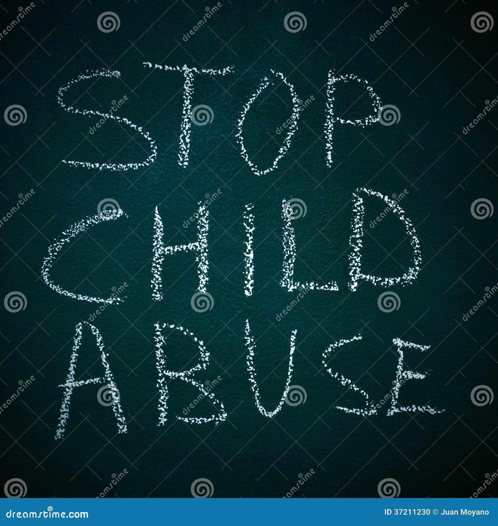 Stoppen Sie Kindesmissbrauch