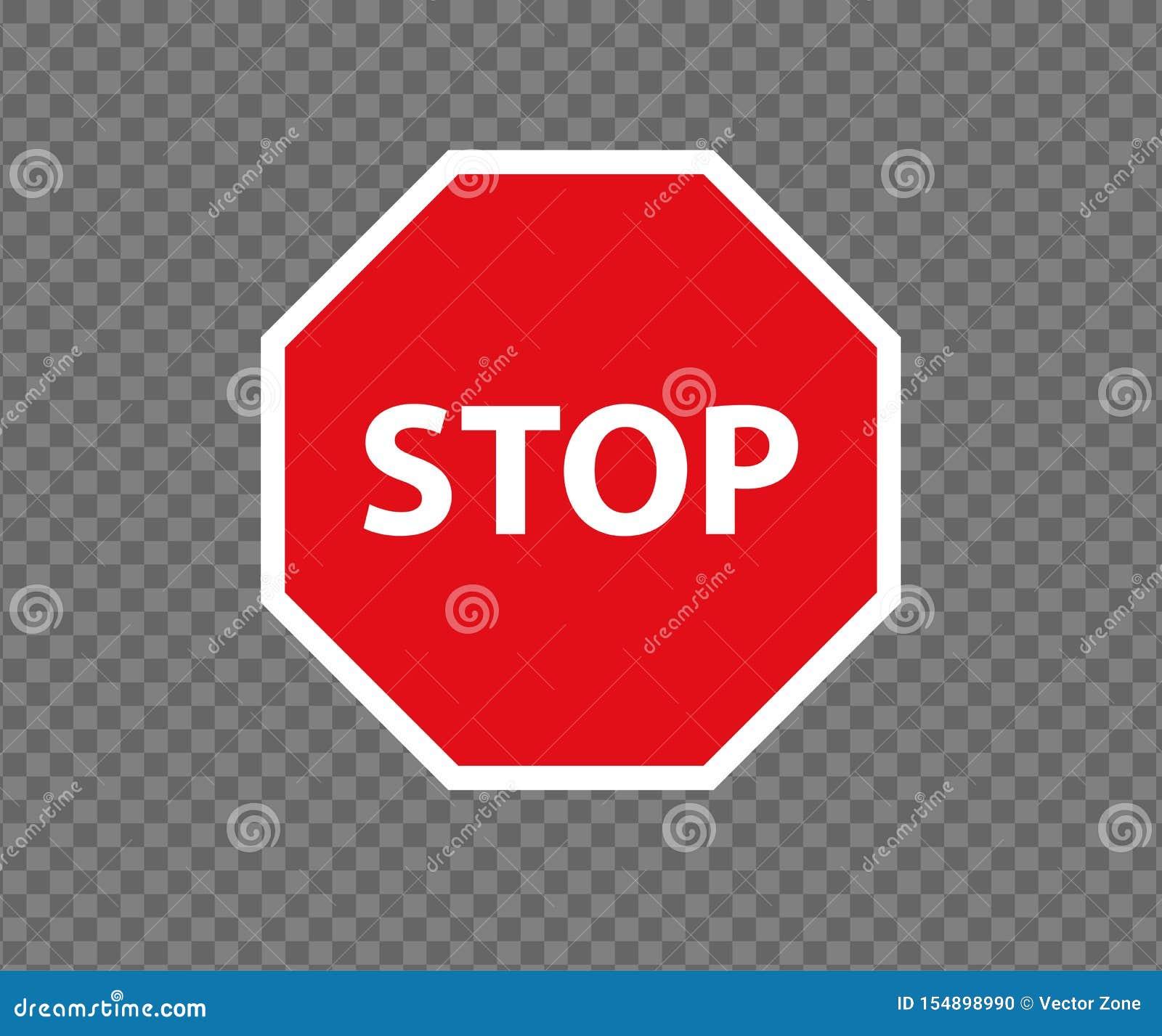 stoppen sie verkehrsschild neues rot tragen nicht