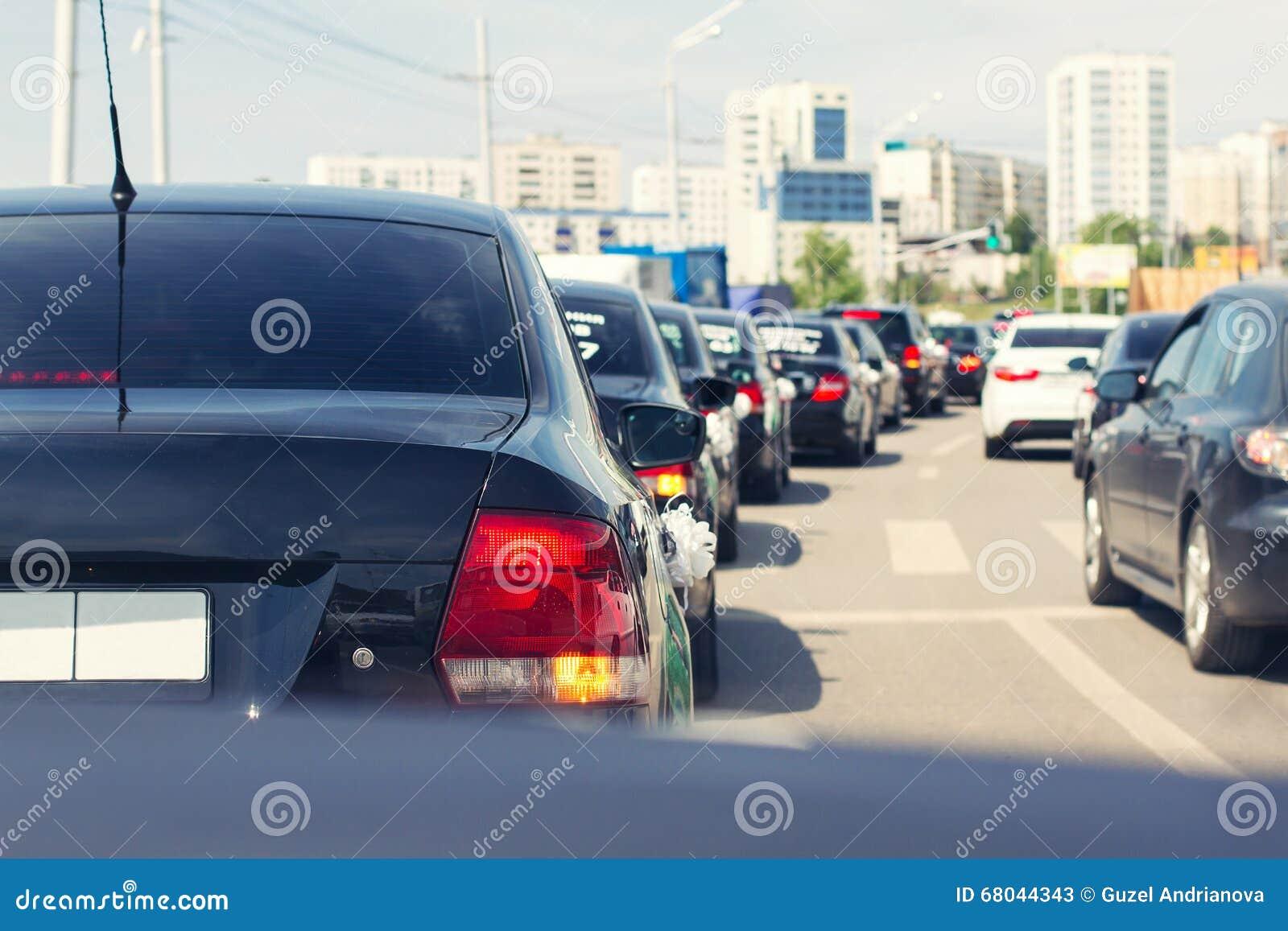 Stopper od samochodów w śródmieściu