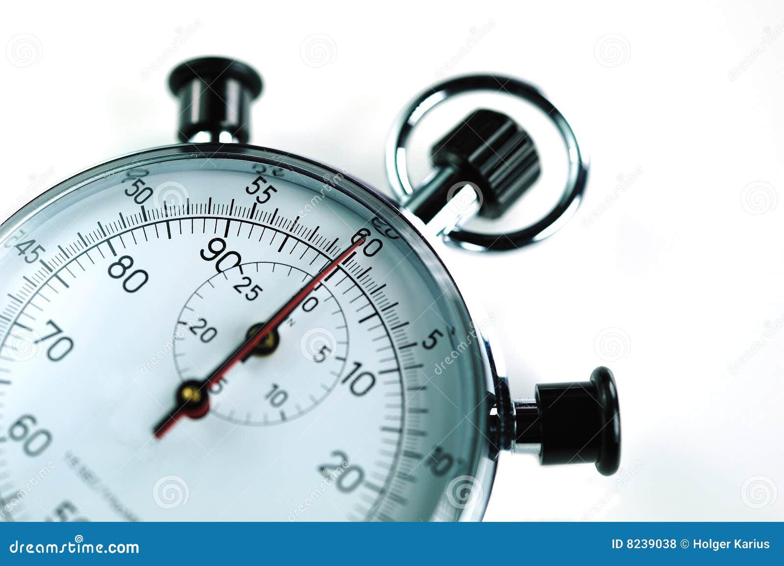 stoppuhr stockfoto bild von analog skalen chronograph 8239038. Black Bedroom Furniture Sets. Home Design Ideas