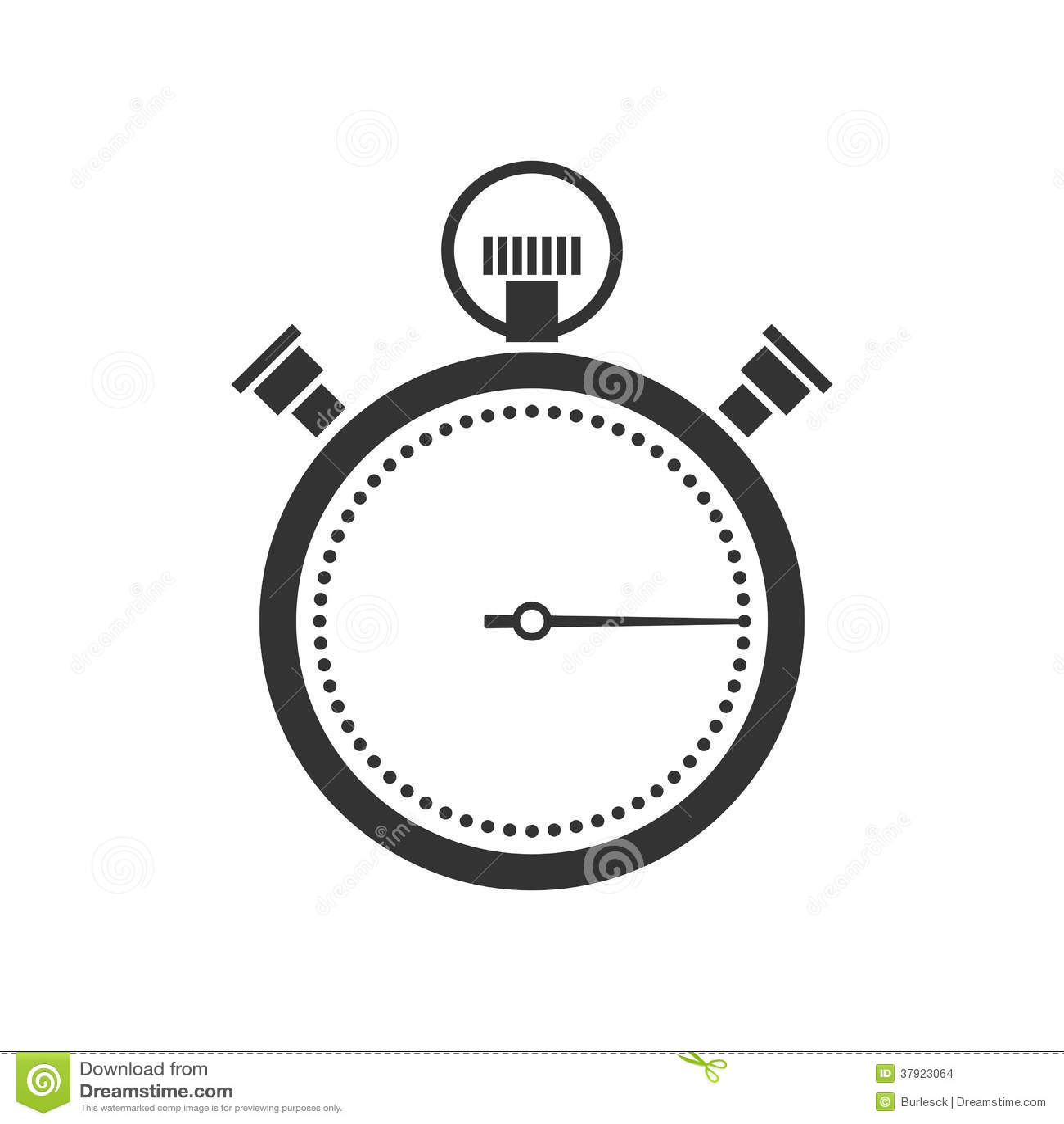stoppuhr oder chronometerikone vektor abbildung illustration von chronometer abstand 37923064. Black Bedroom Furniture Sets. Home Design Ideas