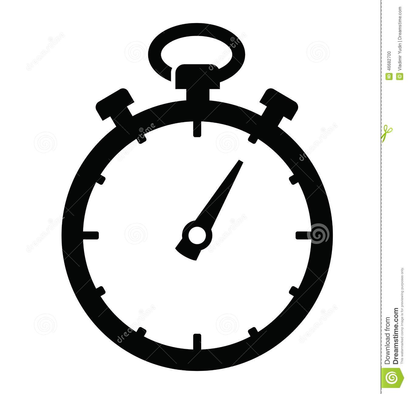 stopwatch icon stock vector illustration of simple chronometer rh dreamstime com stopwatch vector png stopwatch vector icon