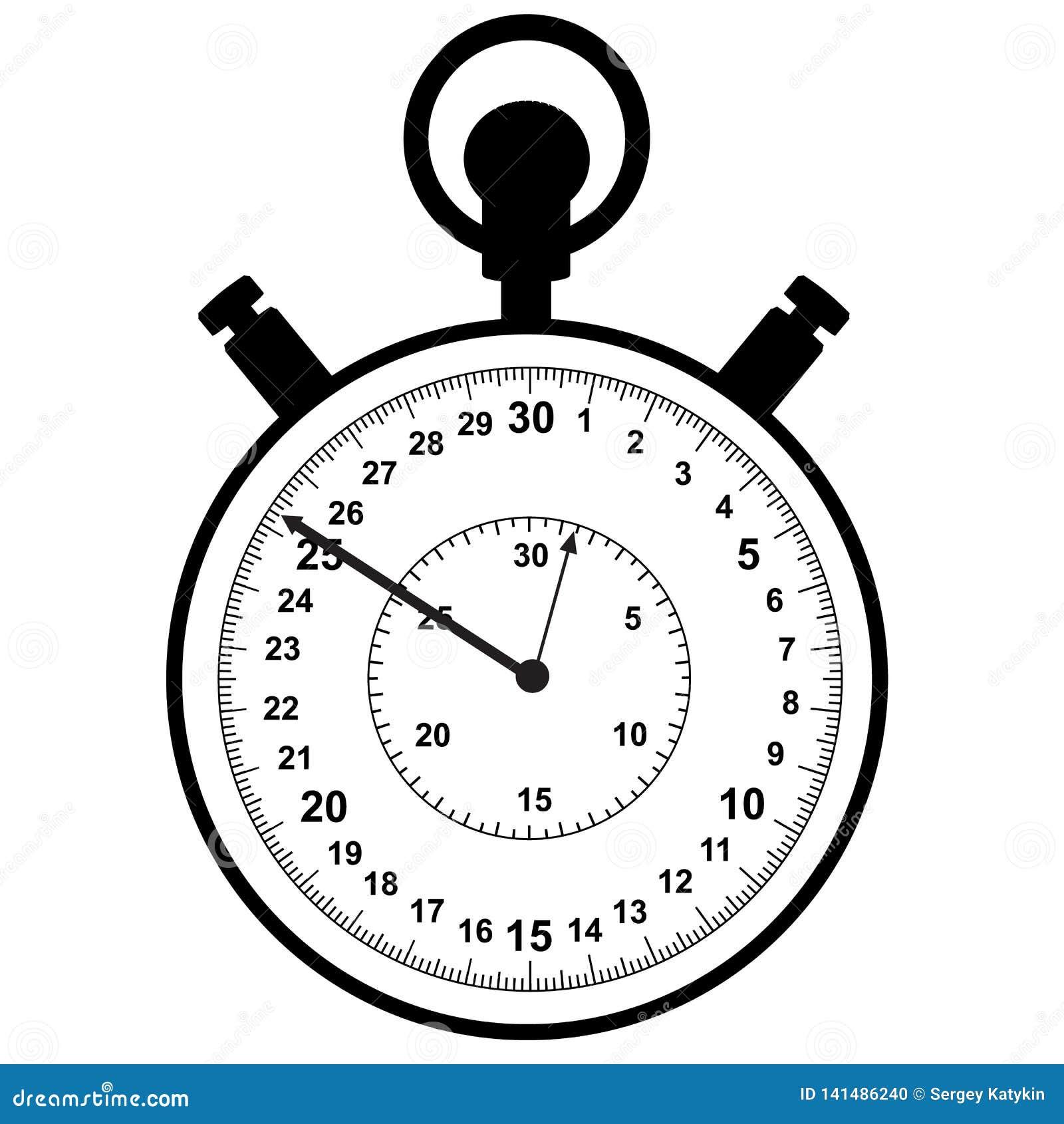 Stopwatch Meccanismo per la misura accurata degli intervalli di tempo
