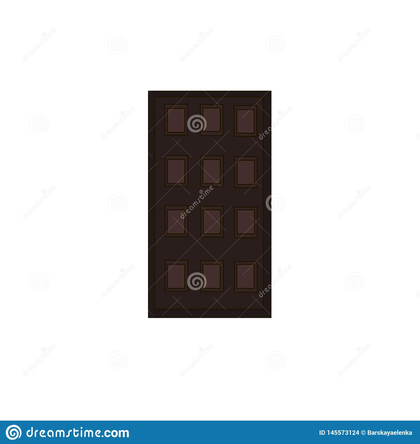 Stor choklad