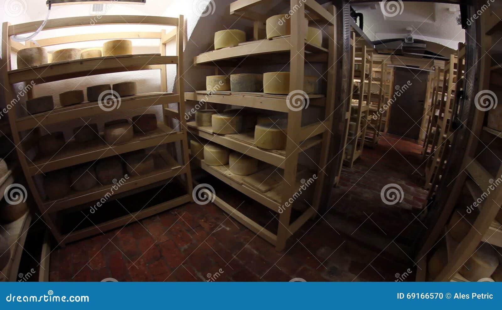 lagring av ost