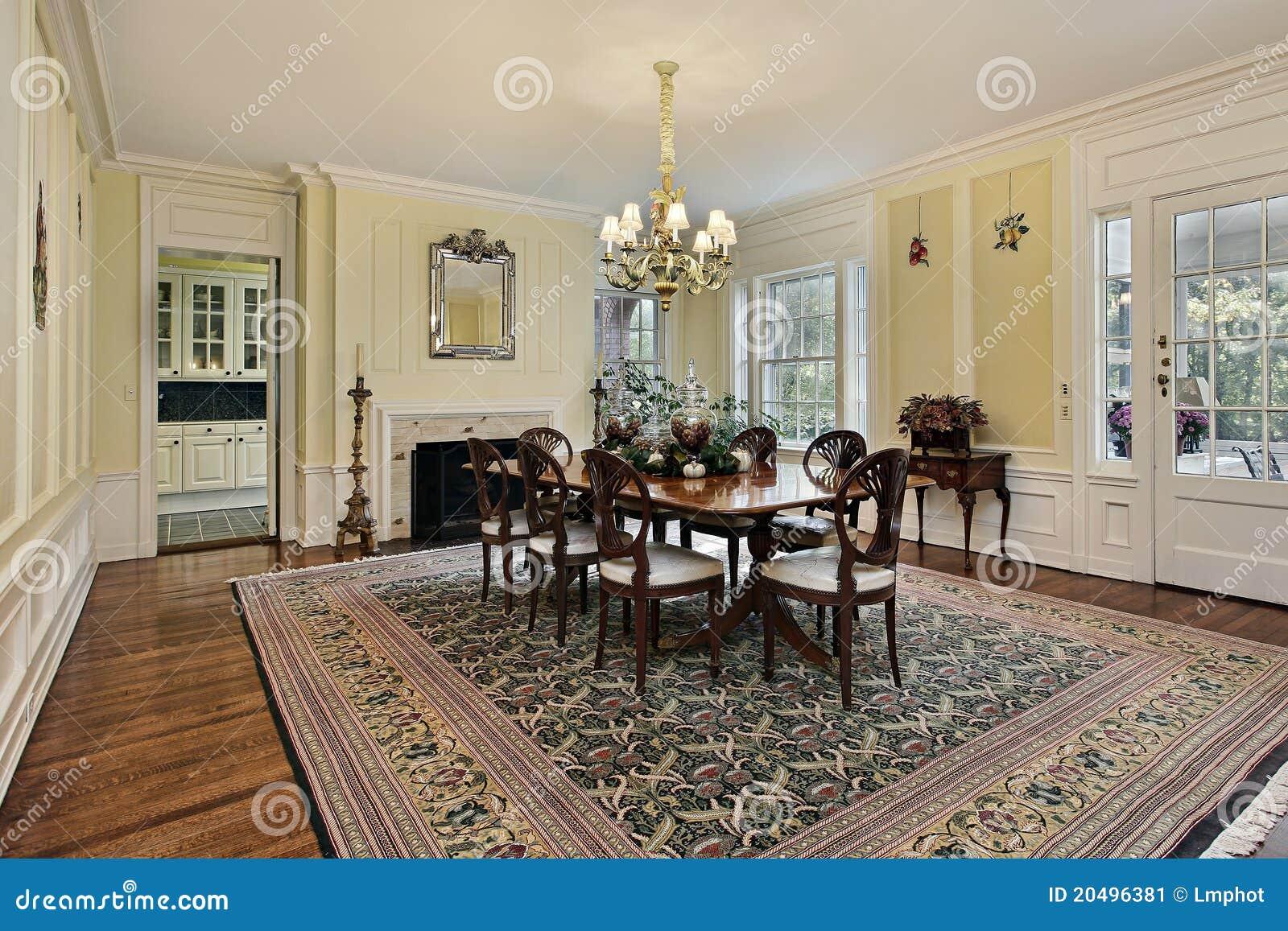 Stor matsal med spis fotografering för bildbyråer   bild: 20496381