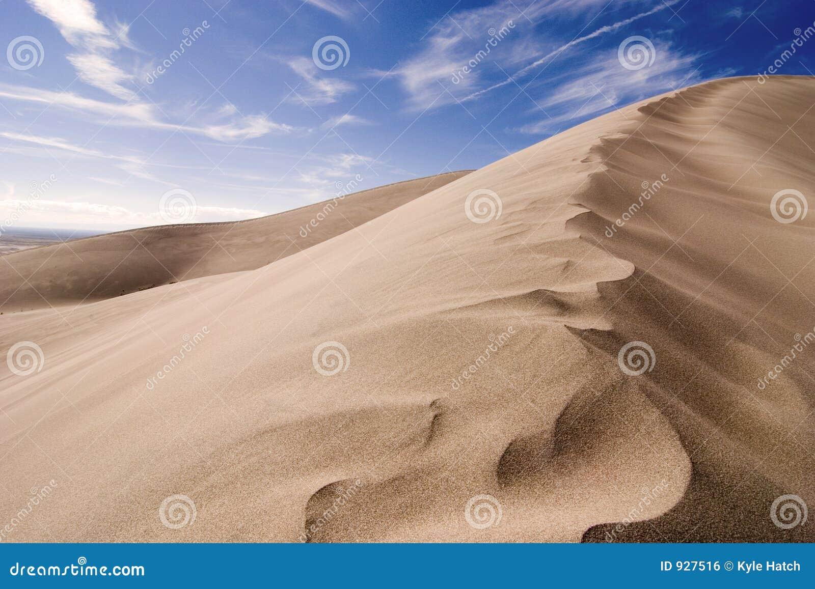 Stor sand för dyner