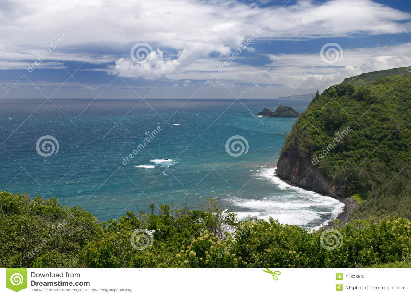 Stor sikt för pololu för hawaii öutkik