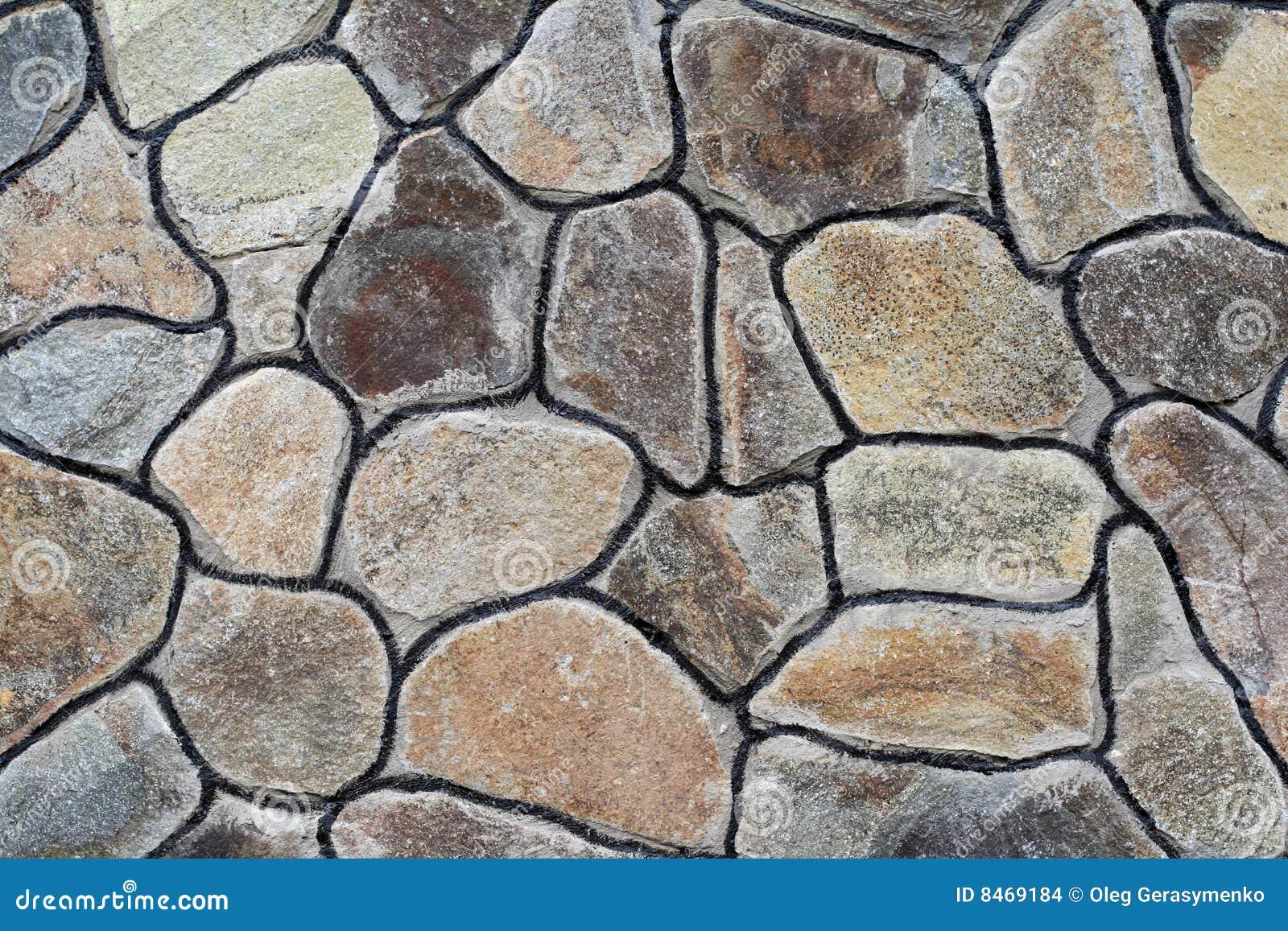 Stor stenvägg
