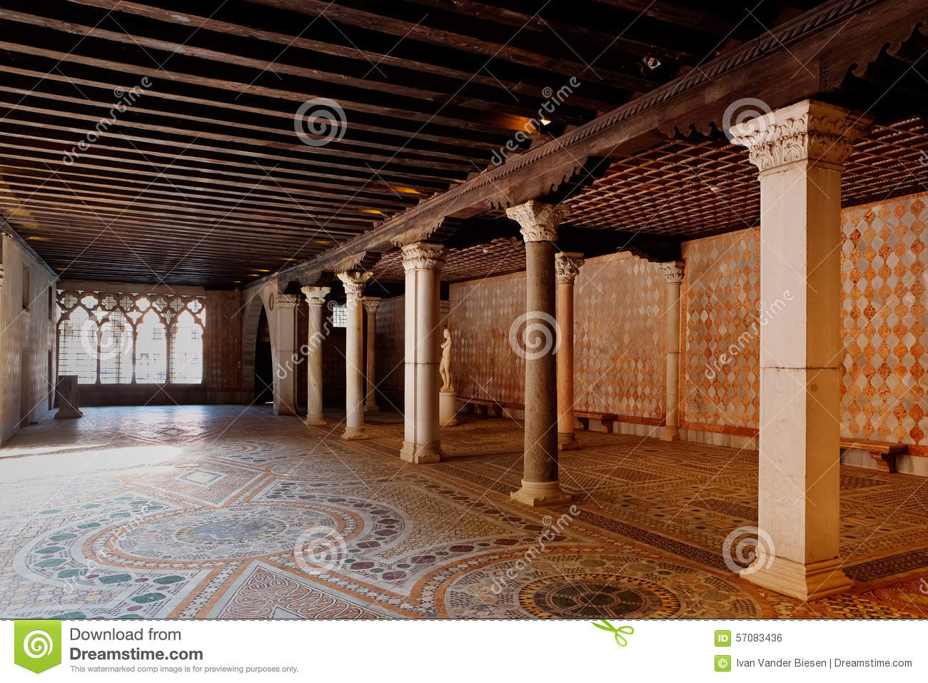 Awesome Download Storage Merchant House Ca Du0027Oro, Venice, Italy Stock Photo   Image