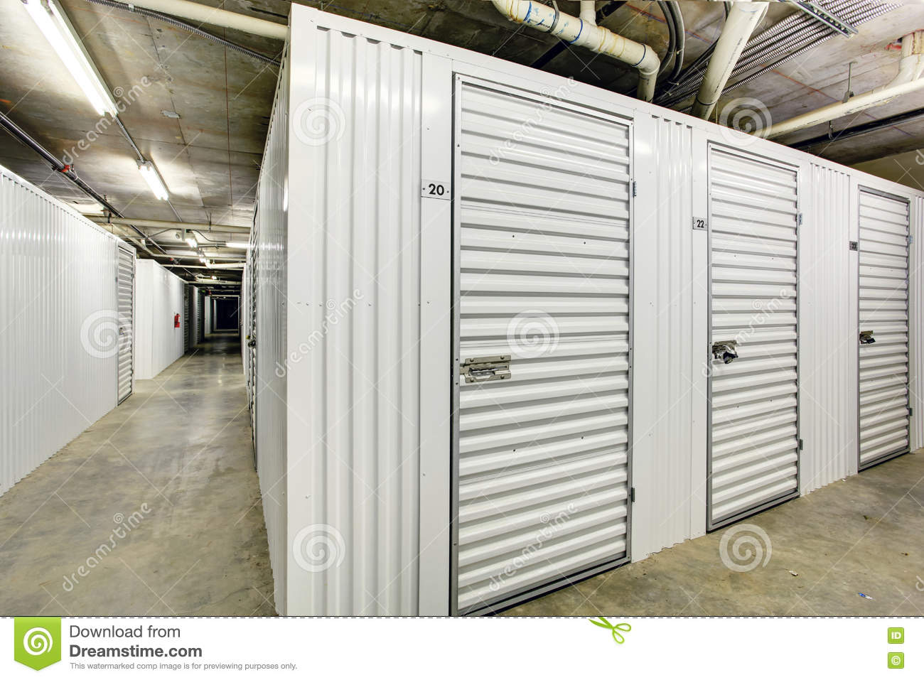 Superbe Download Storage Units In The Basement For Apartment Building Stock Photo    Image Of American,
