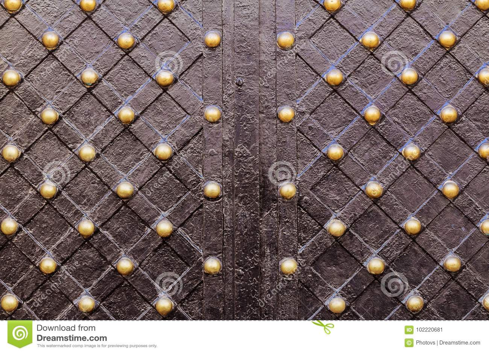 Storartade smidesjärnportar, dekorativt smide,