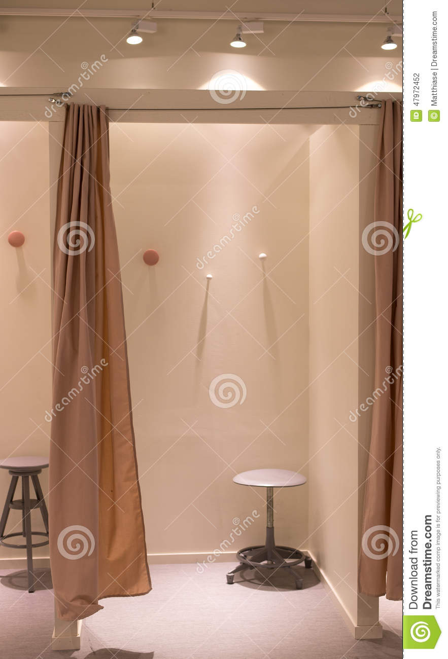Store Changing Room Stock Photo  Image 47972452