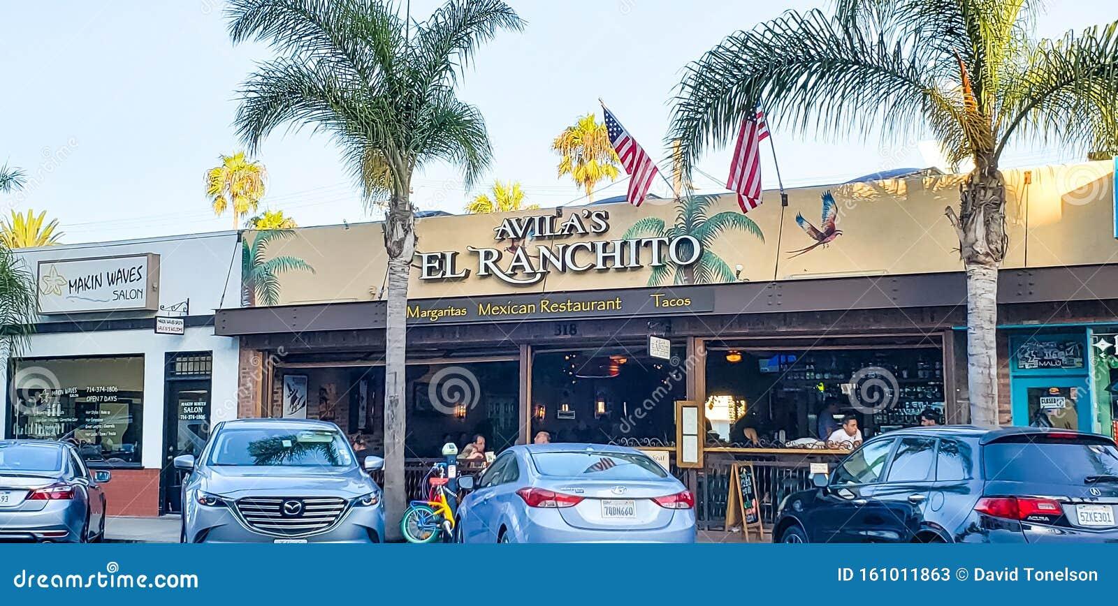 Avila S Restaurant Sign Editorial Stock Photo Image Of Cafe 161011863