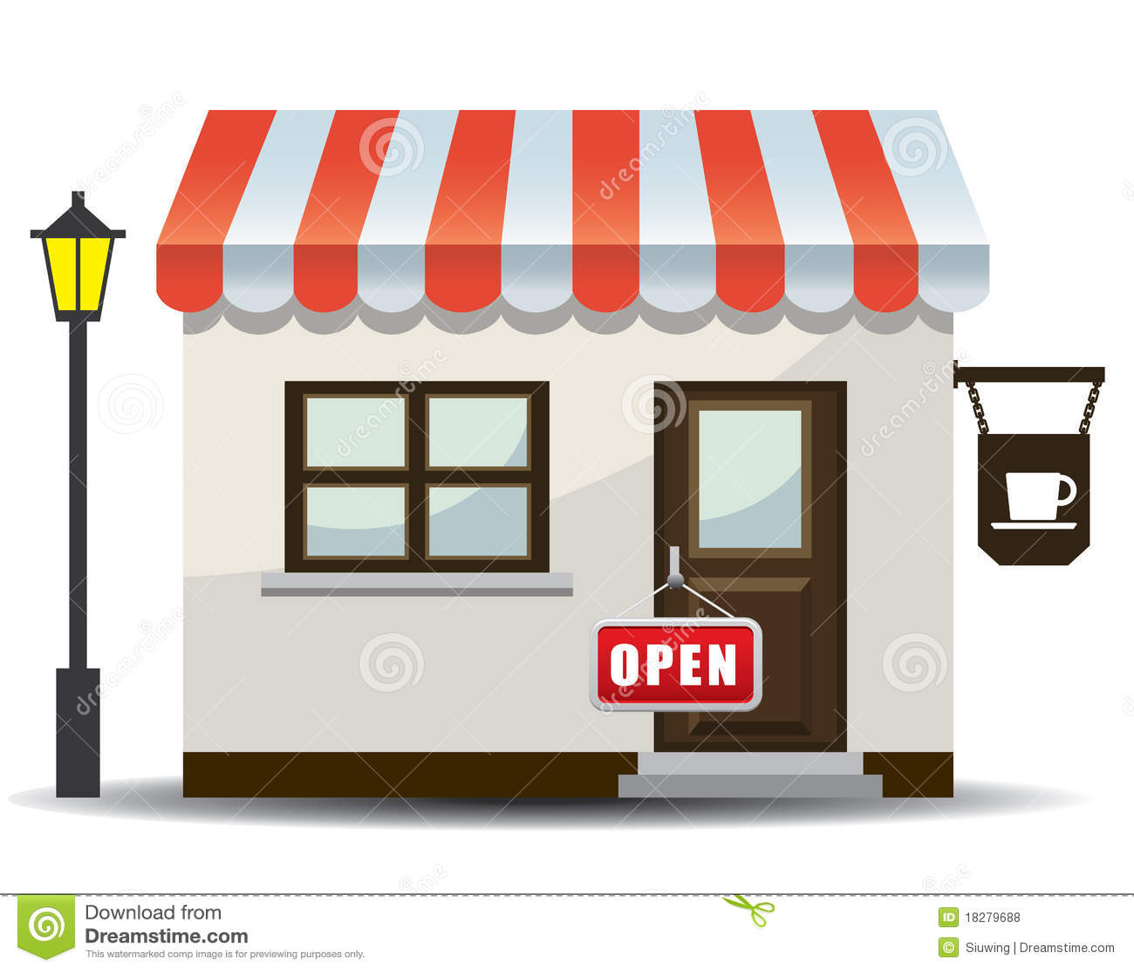 Store icon illustration stock vector. Illustration of ...