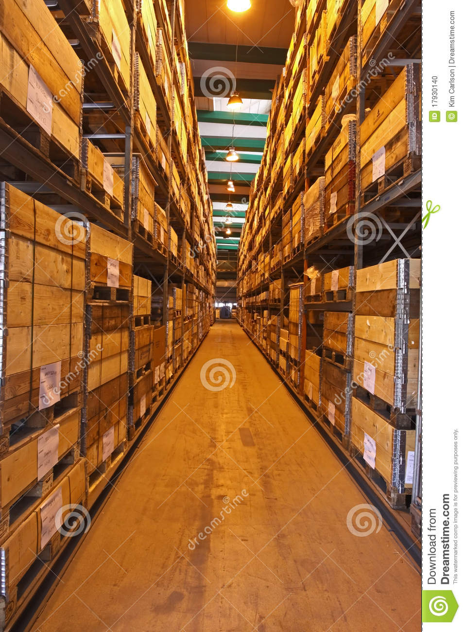 Store Or Stock In Trade Stock Photo Image 17930140