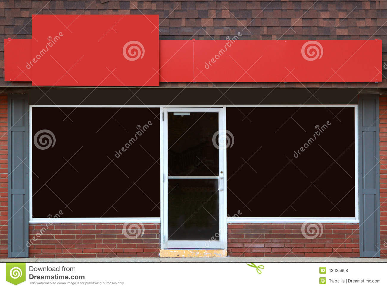 Storefront stock photo image 43435908 for Opening a storefront business