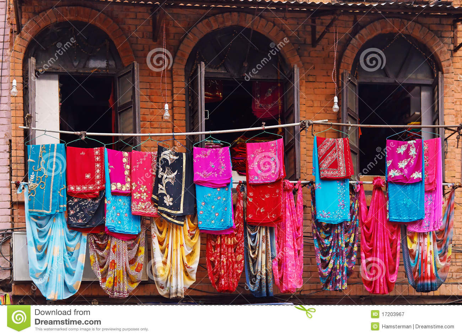 Nepal clothing store