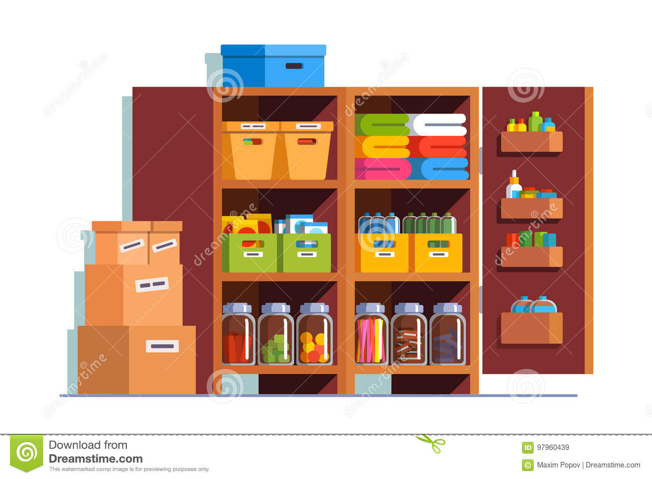 Pantry Cartoons Illustrations Amp Vector Stock Images