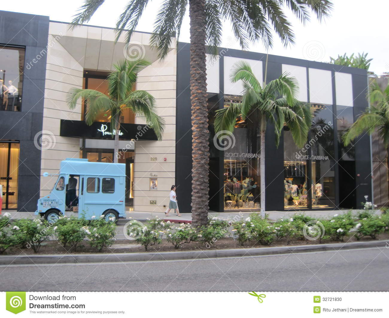 Stores At Rodeo Drive Editorial Image Image 32721830