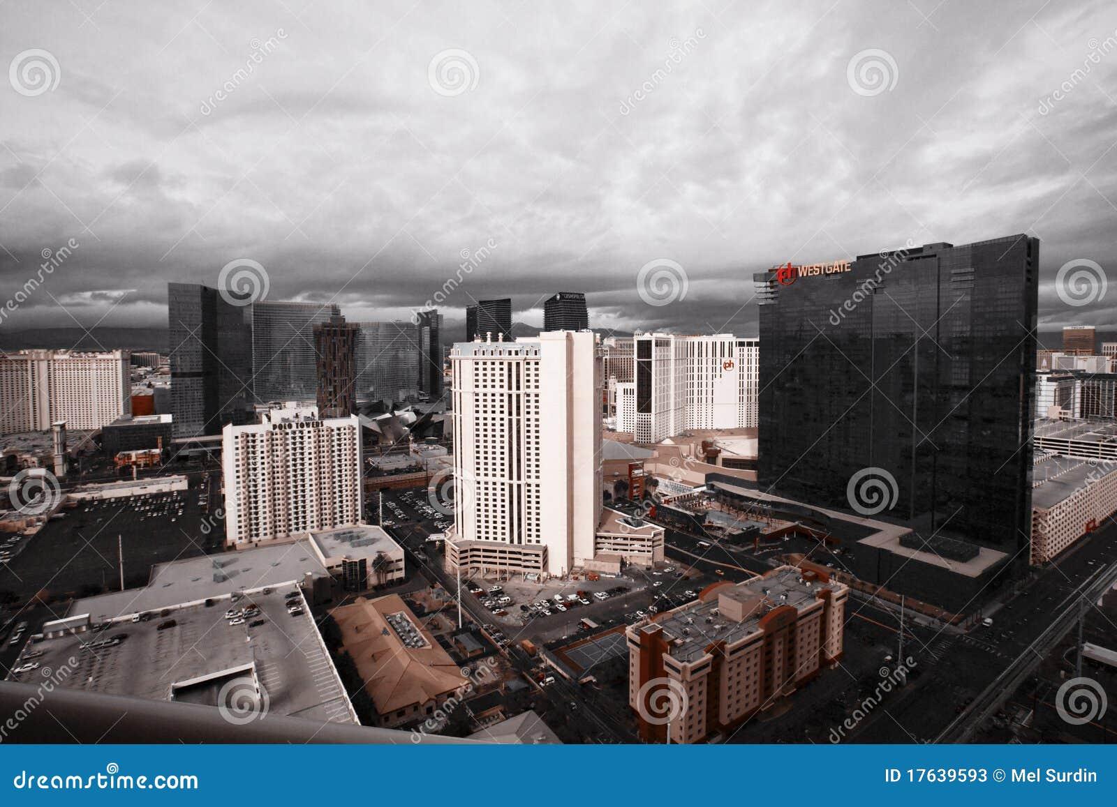 Las Vegas Christmas Weather.Storm Clouds Over Las Vegas Editorial Stock Photo Image Of