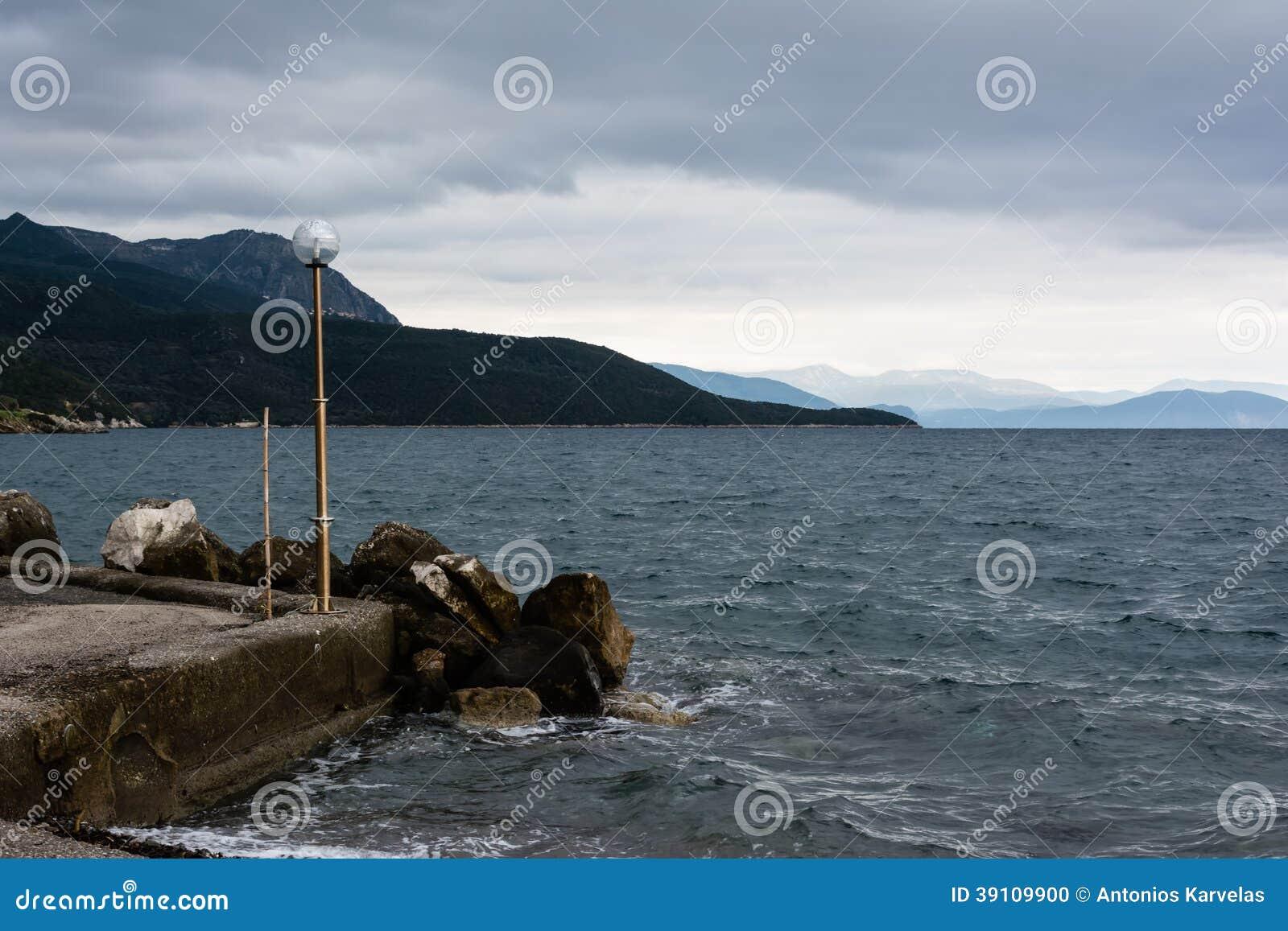 Stormachtige Kust - de Zwarte Zee
