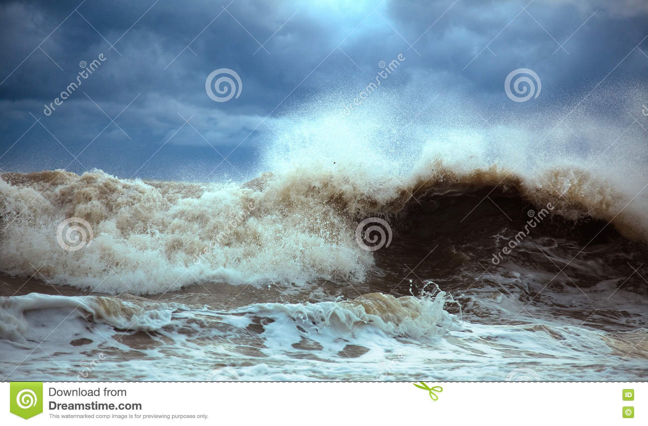 Download Stormy waves stock image. Image of backgrounds, confusion - 11221309