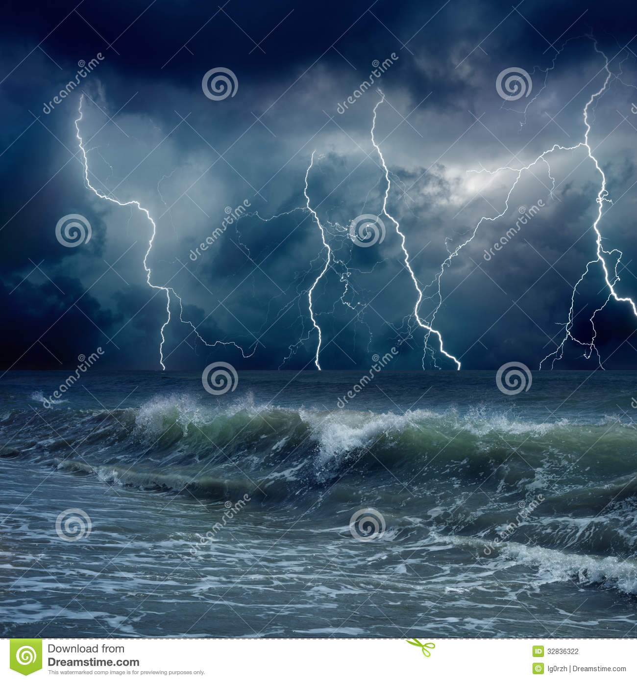 stormy weather stock photography image 32836322