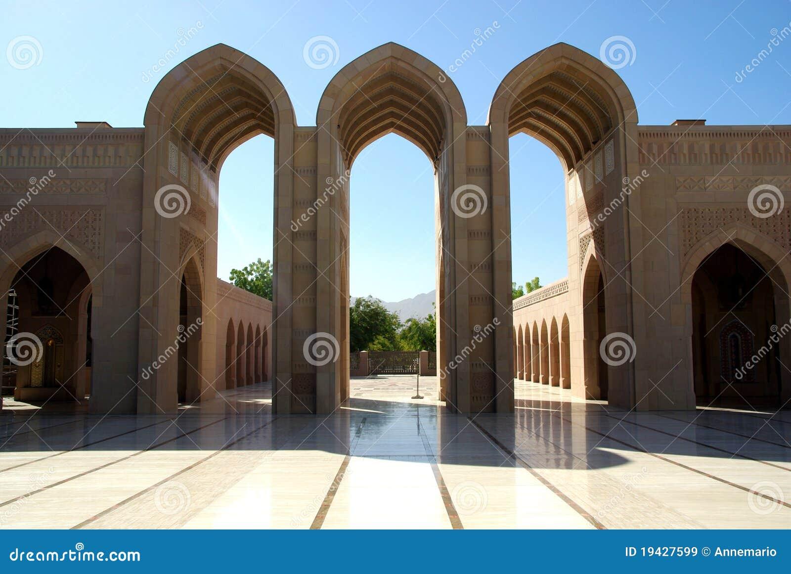 Storslagen moské