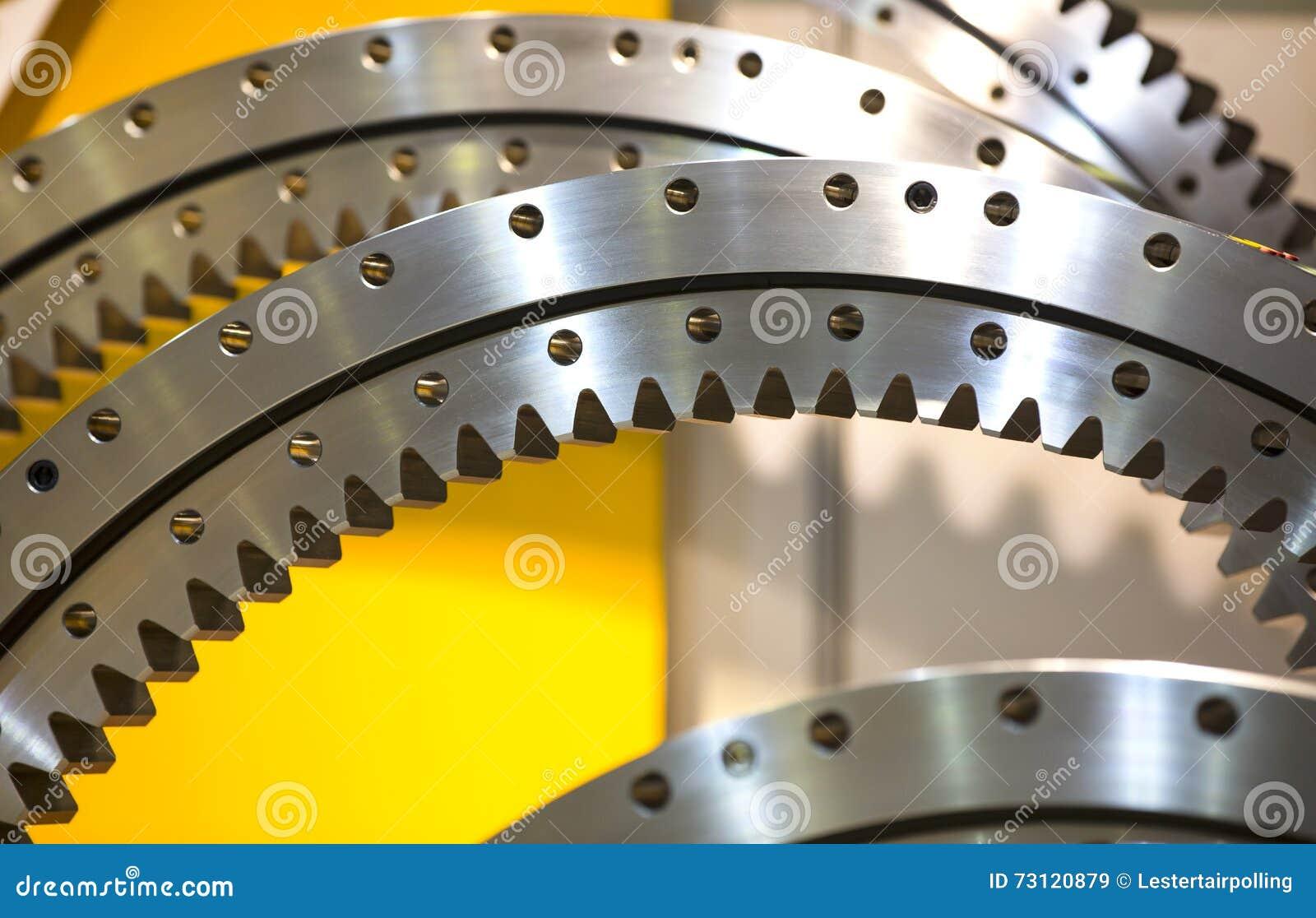 Stort stålkugghjul