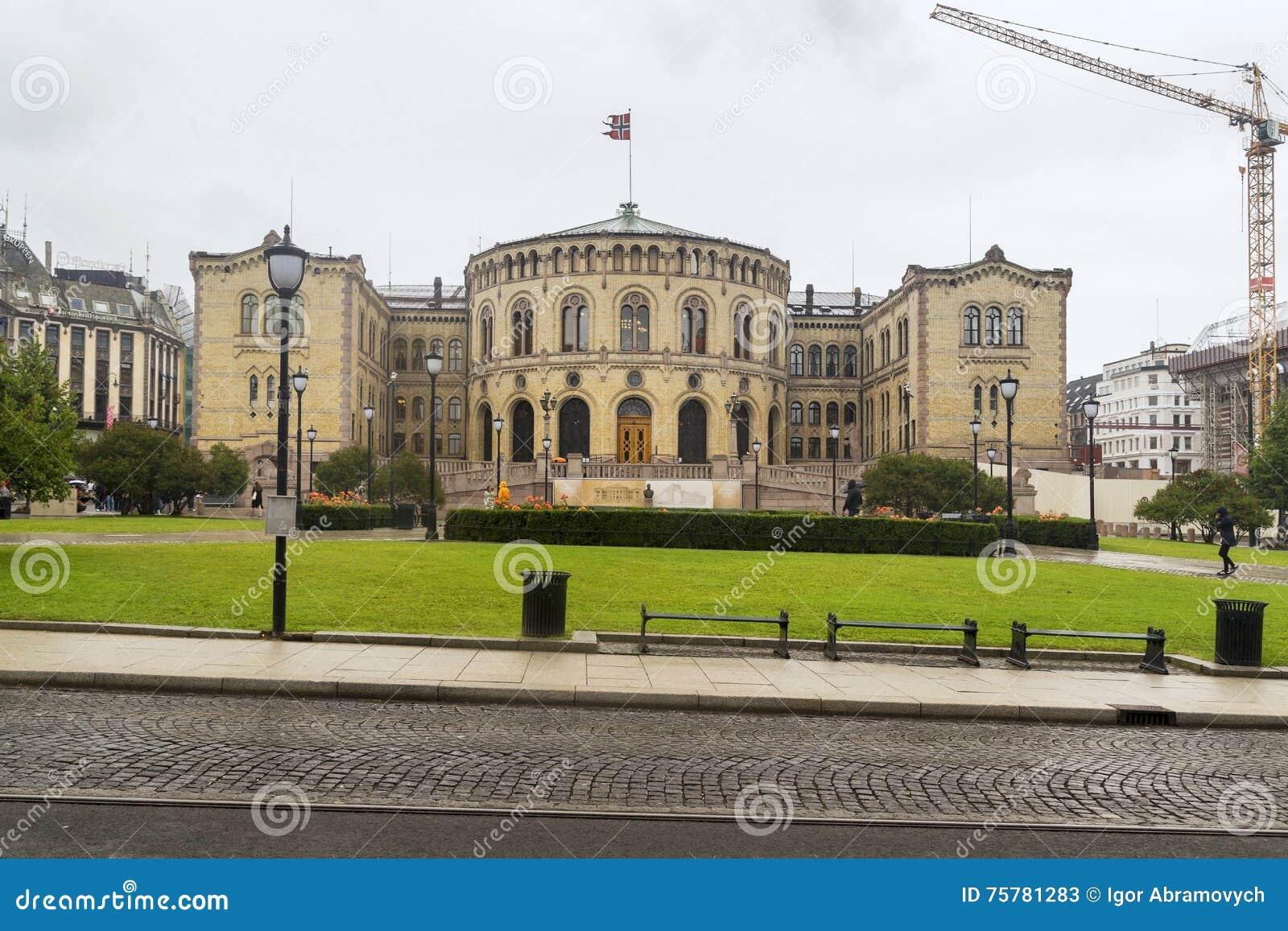 Storting, o parlamento de Noruega