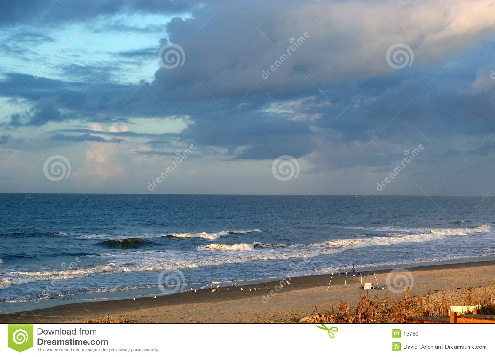 Storw browarniany nad ocean