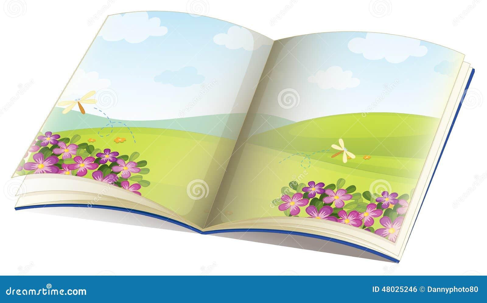 Storybook Stock Vector