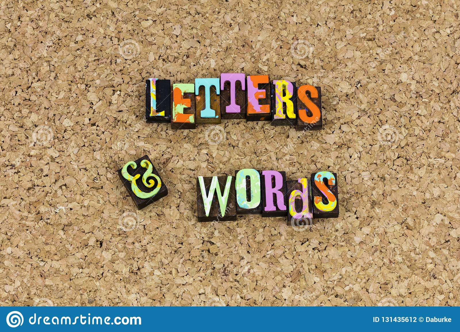 Letters words phrase spelling