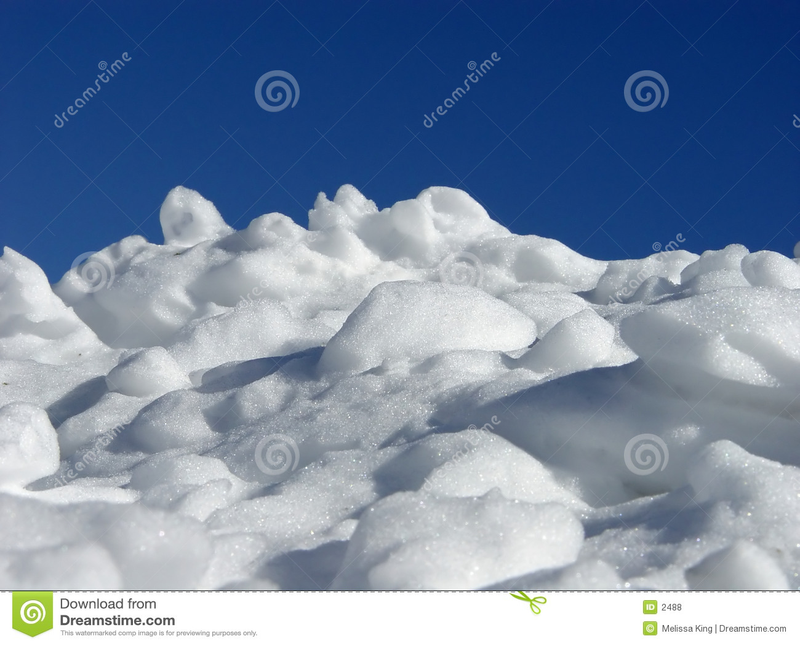 Stos śnieg