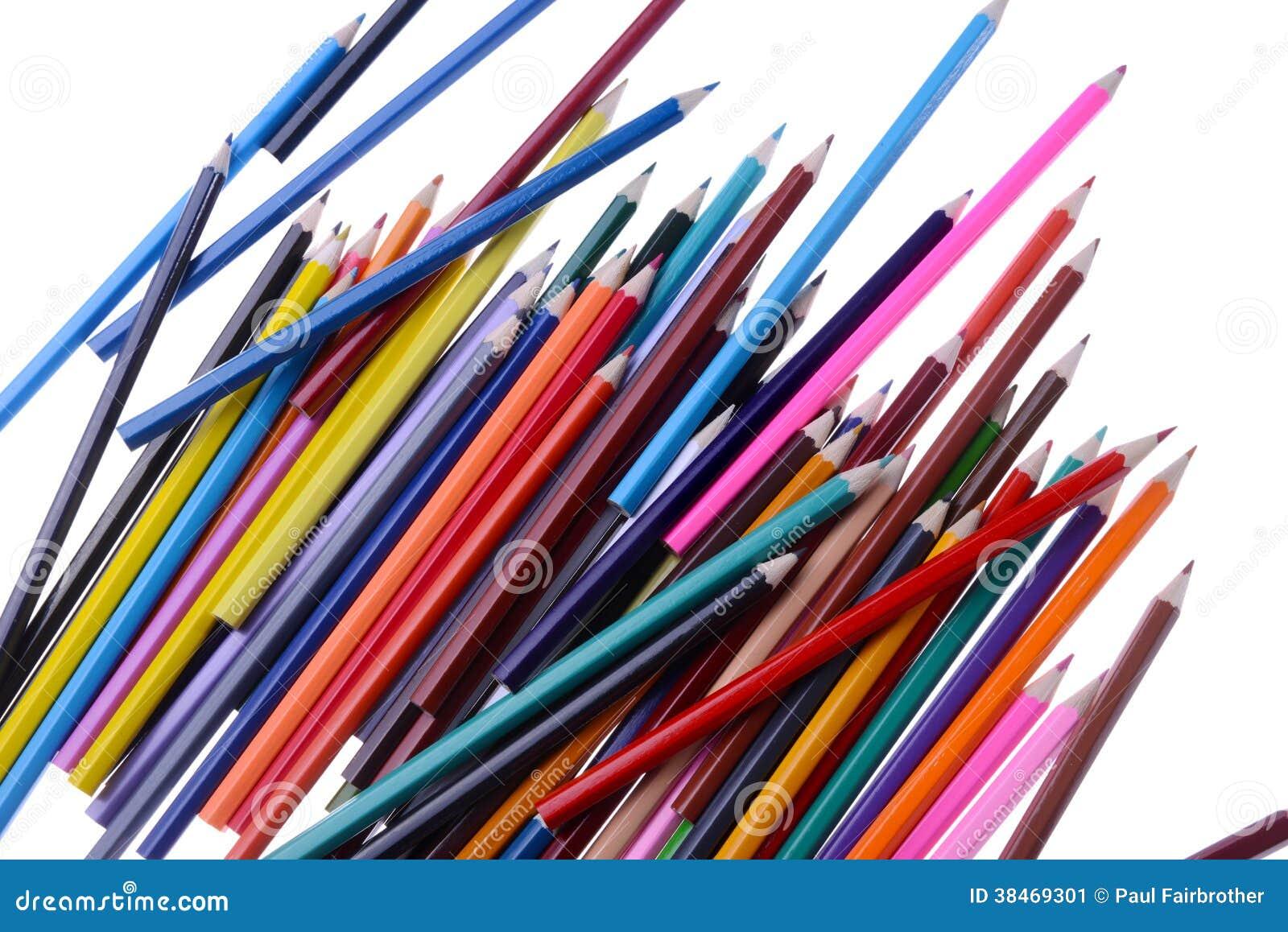Stos kolorystyka ołówki