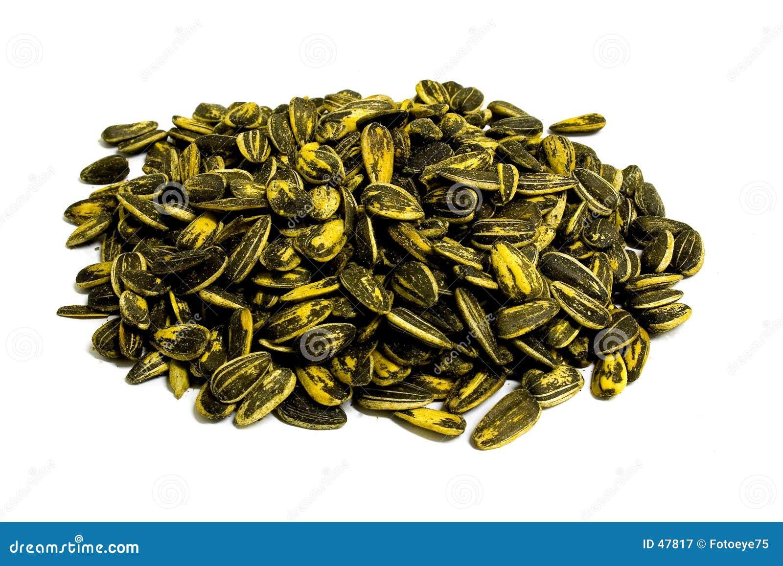 Stos nasion słonecznika