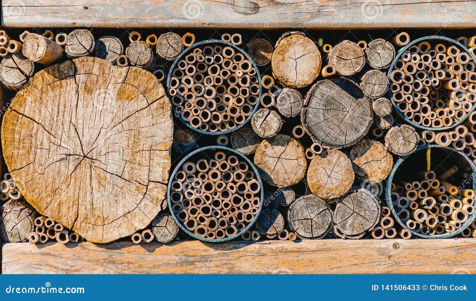 Stosy drewniani bagażniki cią w górę różnych rozmiarów w
