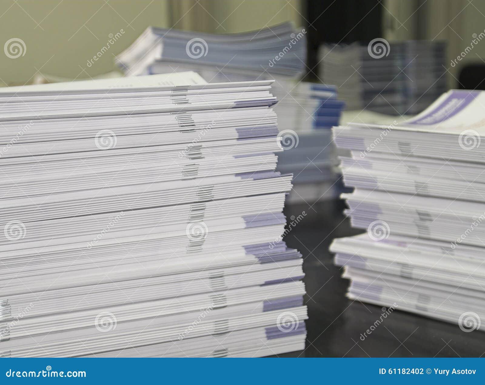 Stosy zapomoga broszury