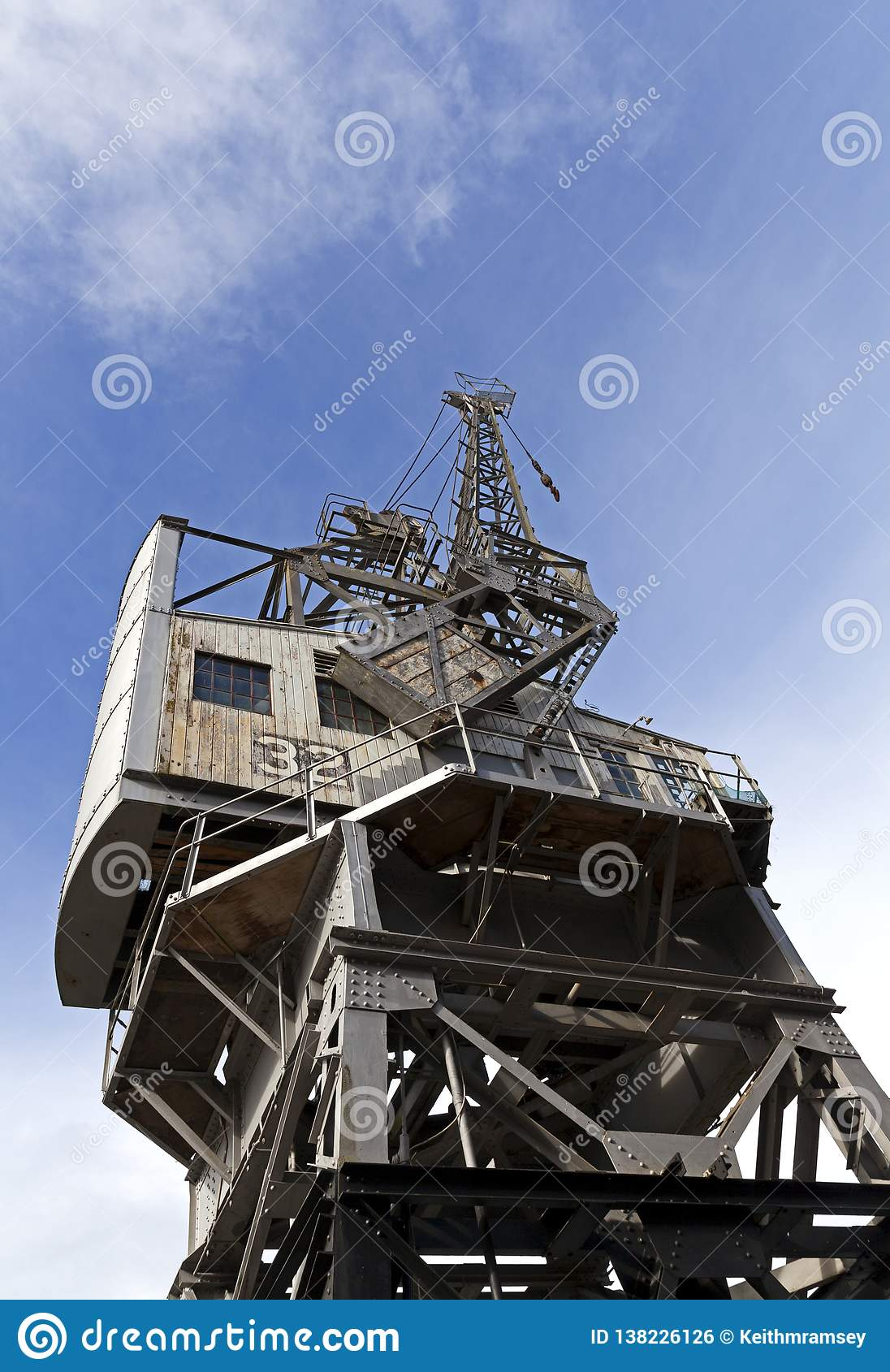 Stothert und Pitt 10 Ton Dockside Crane