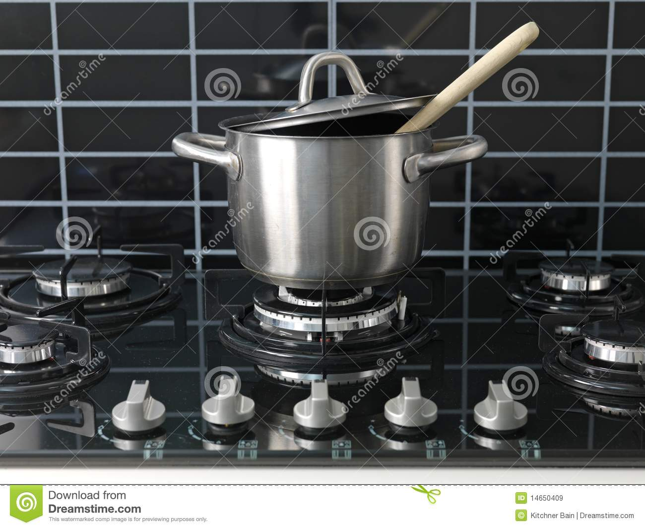 Kitchen Stove Top ~ Stove top cooking stock image of kitchen cook