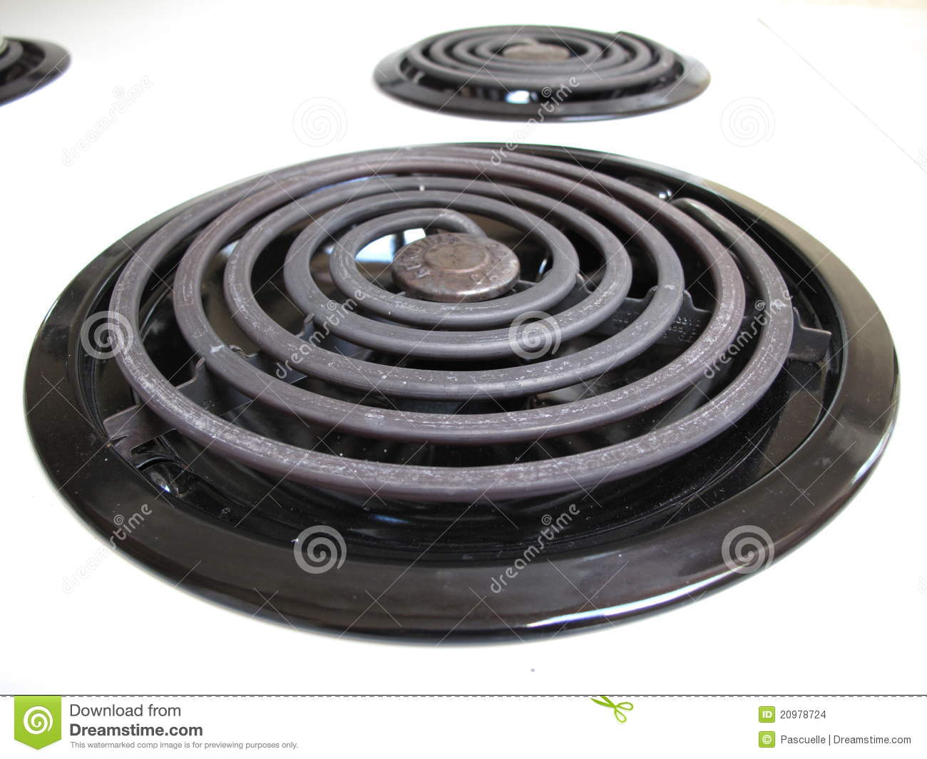 stove element. royalty-free stock photo. download stove top cooking element s