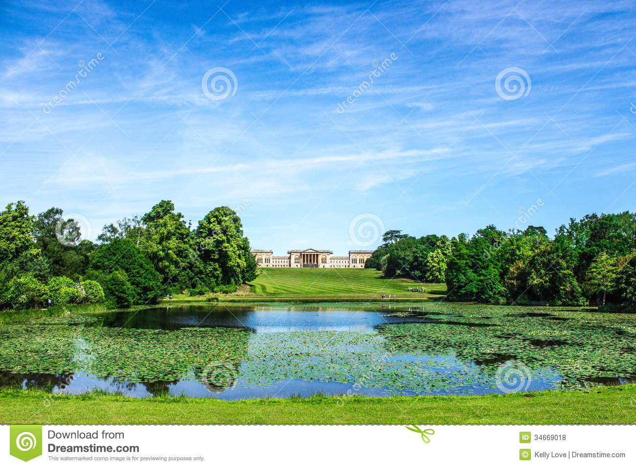 Stowe house and garden royalty free stock photos image for Capability brown garden designs