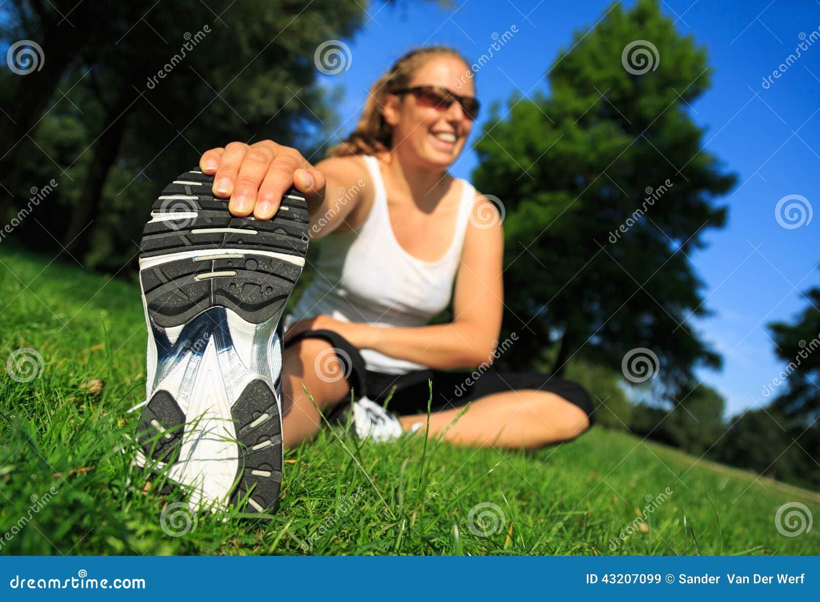 Download Sträckning fotografering för bildbyråer. Bild av maraton - 43207099