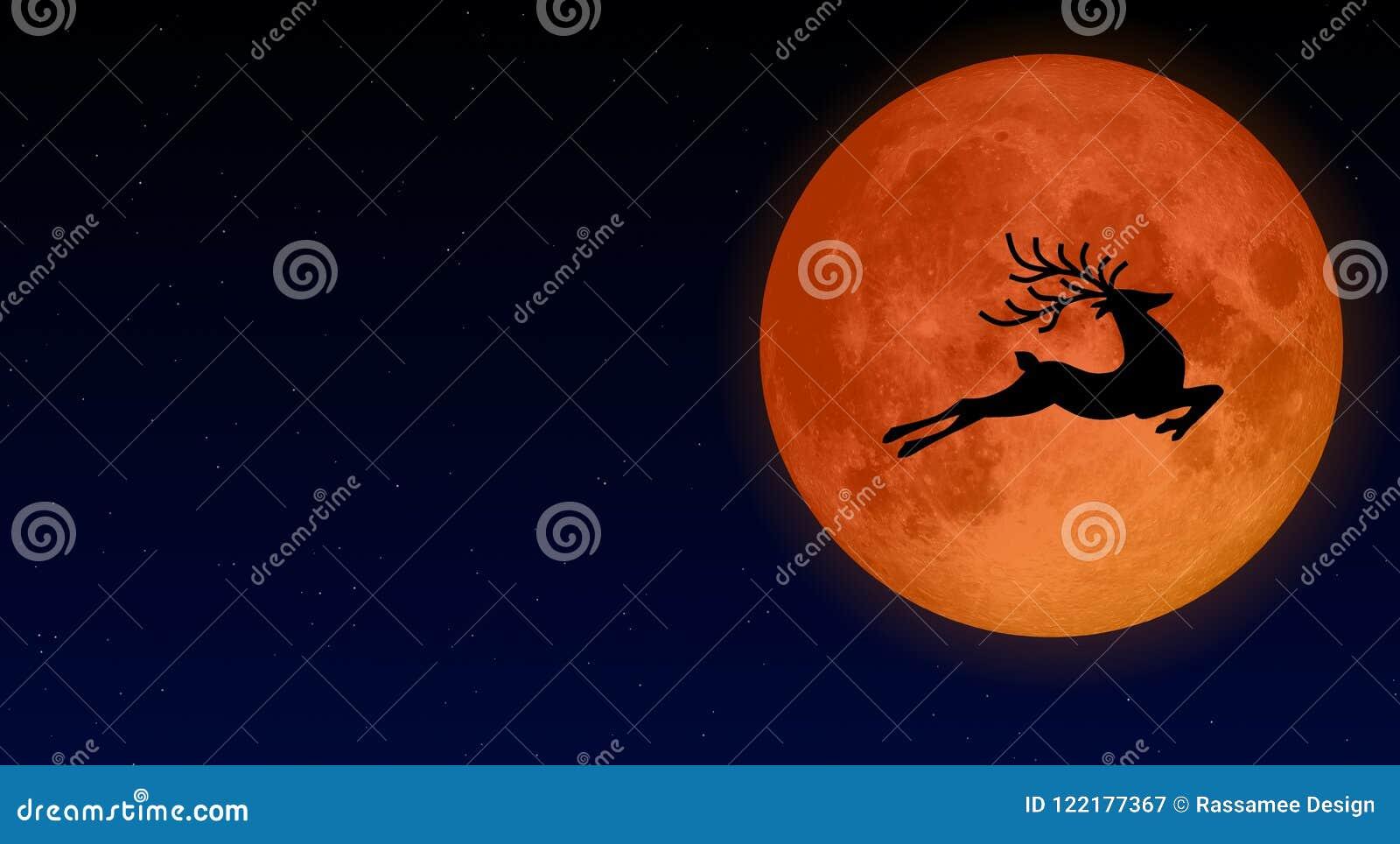 Sträuben Sie sich Mond oder Vollmond im Juli jedes Jahrillustrationsdesigns
