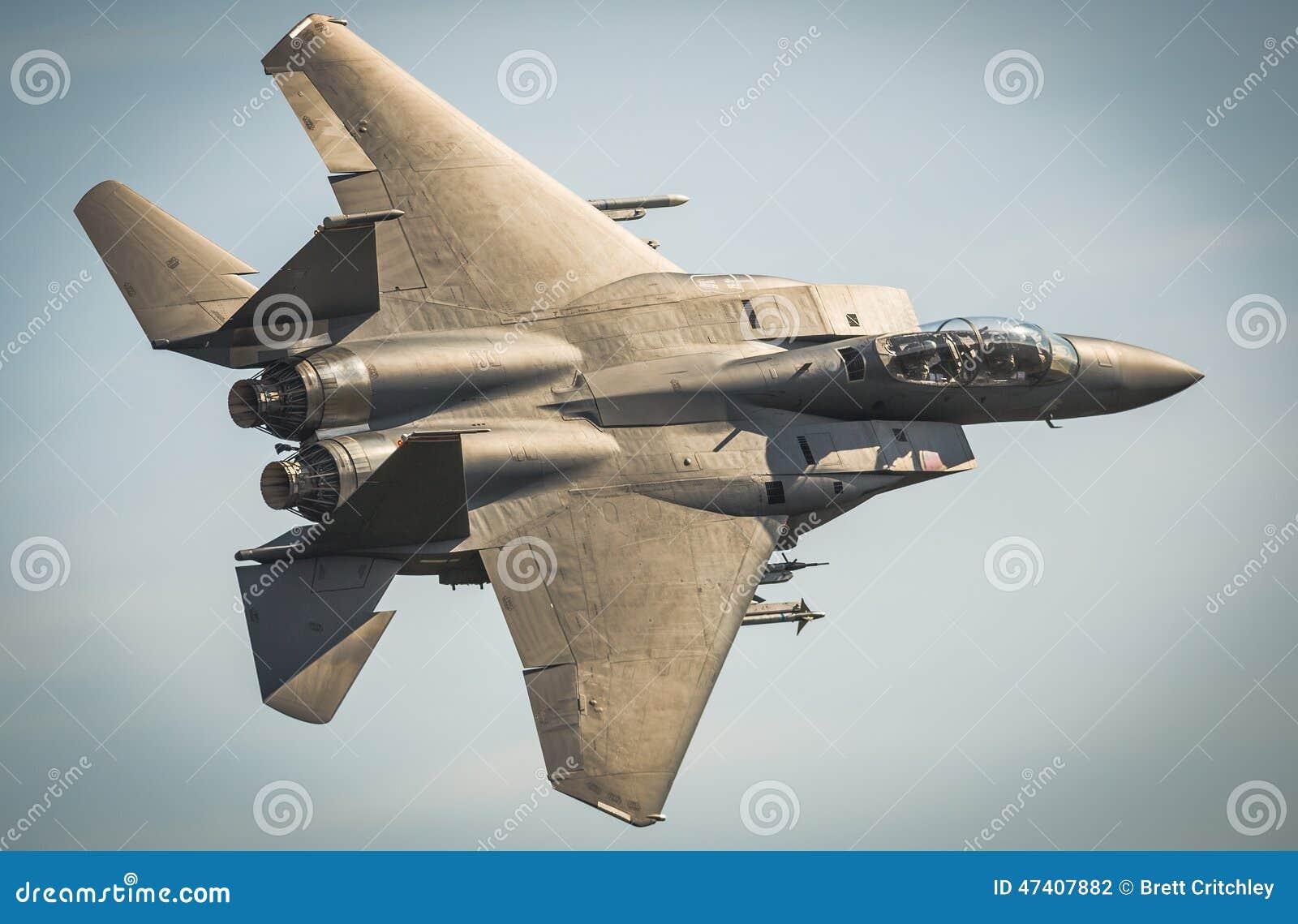 Strålflygplan för F15 Eagle