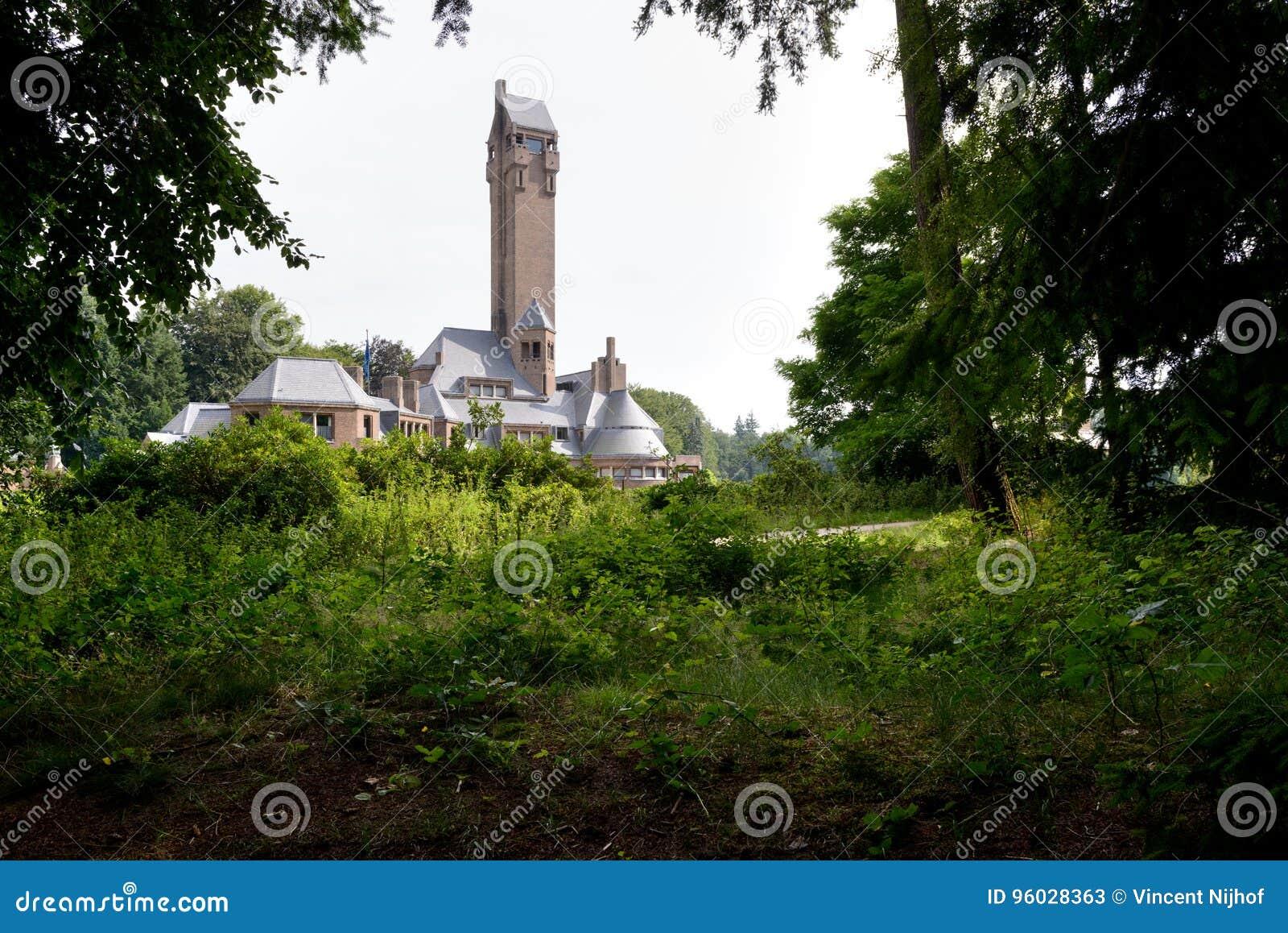 Stróżówki St Hubertus architekt Berlage holandie