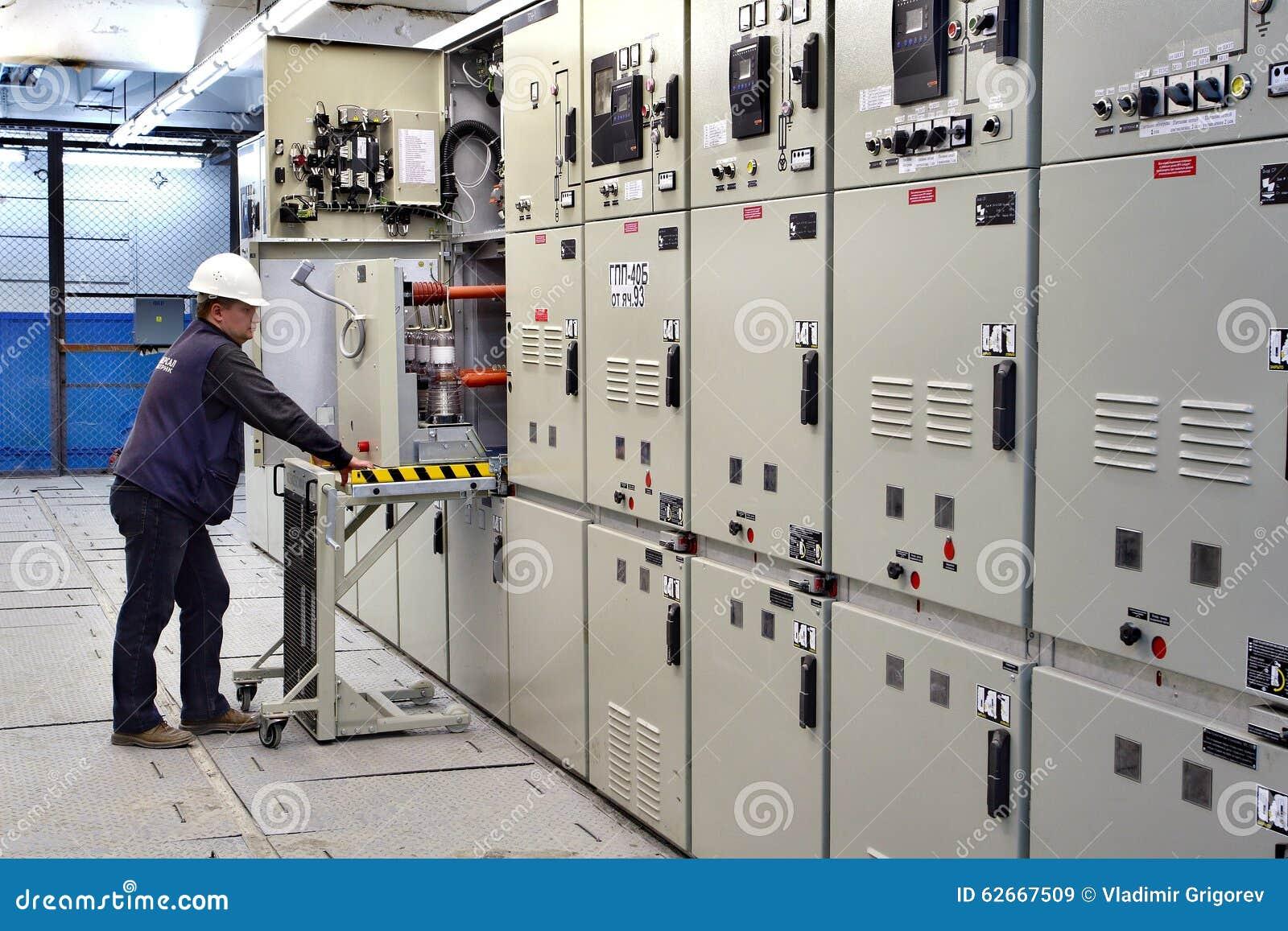 Strömbrytarerum, panel för elektroingenjörkontrollswitchgear