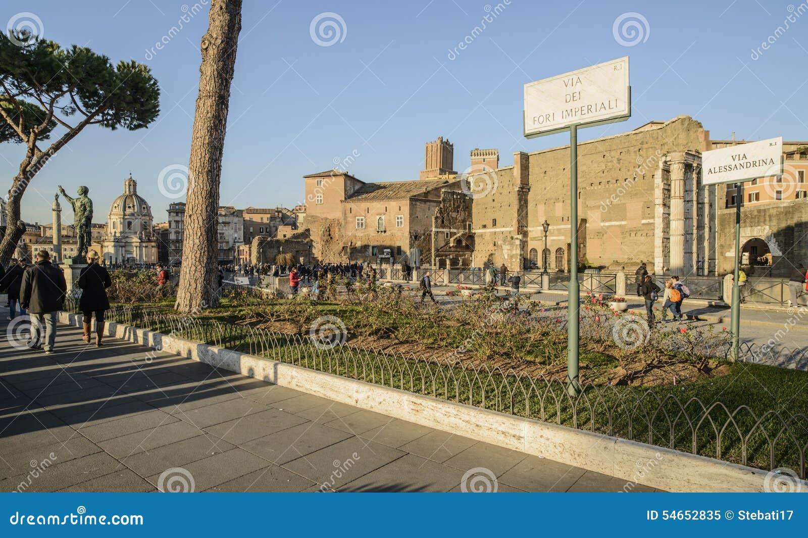 die kaiserforen roms